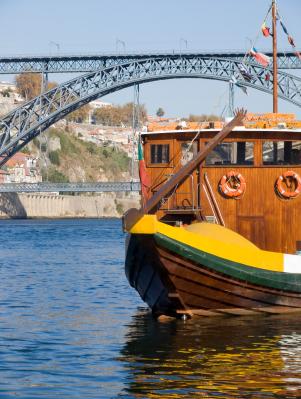 bateau vin portugais